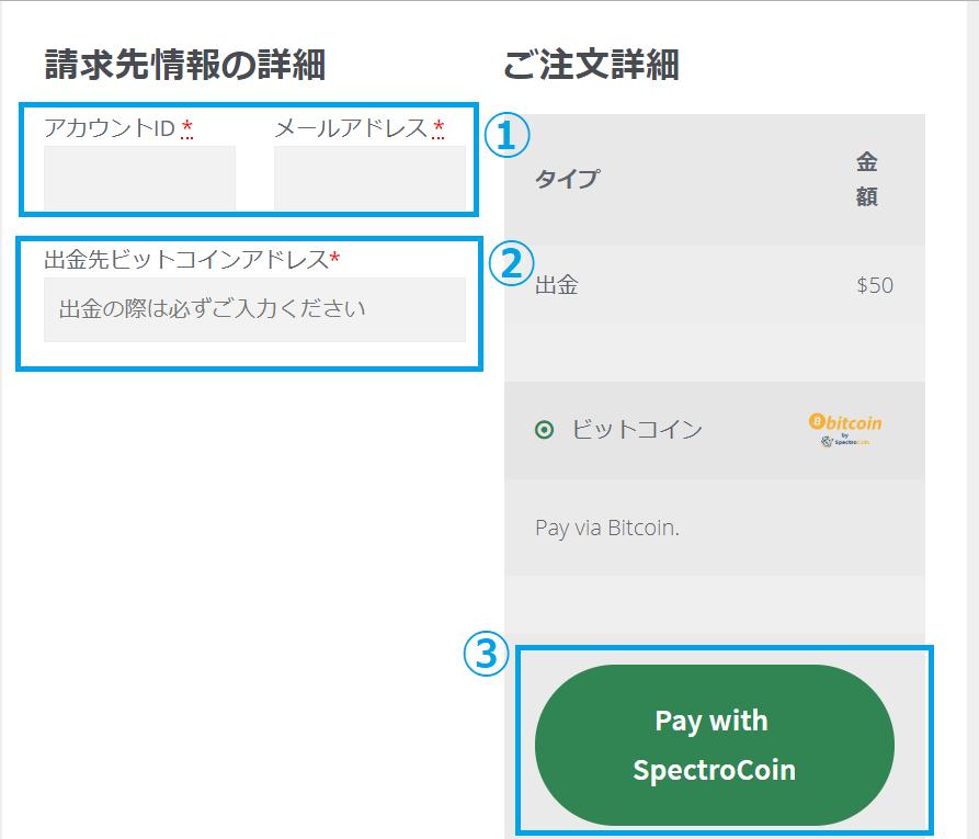 【図解】カリビアンカジノのビットコイン入金出金手順
