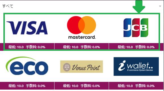 【図解】ラッキーニッキーのクレジットカード入金まとめ!限度額や手数料も