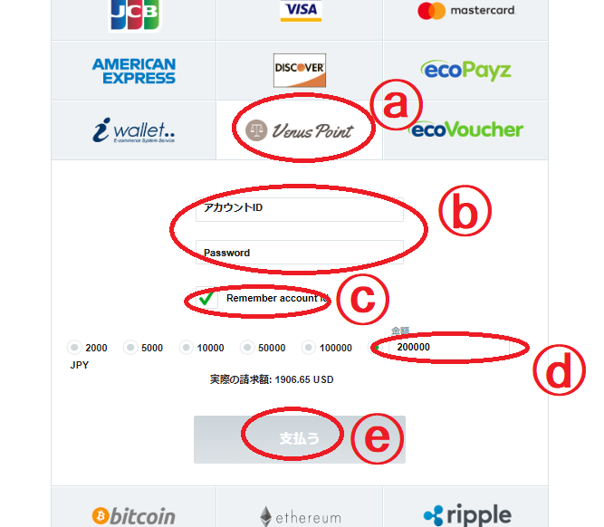 【図解】カジノエックスのヴィーナスポイント入金出金手順・限度額・手数料まとめ
