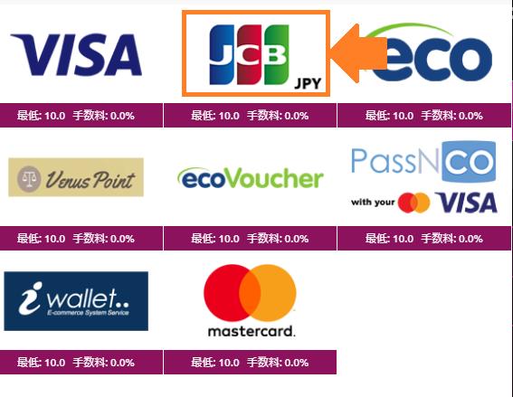 ラッキーニッキーカジノのJCBクレジットカード入金手順2020!手数料や入金できない時の対処法も網羅
