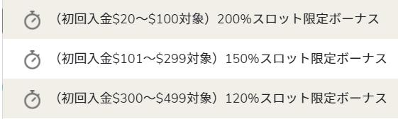 ユースカジノ 初回入金