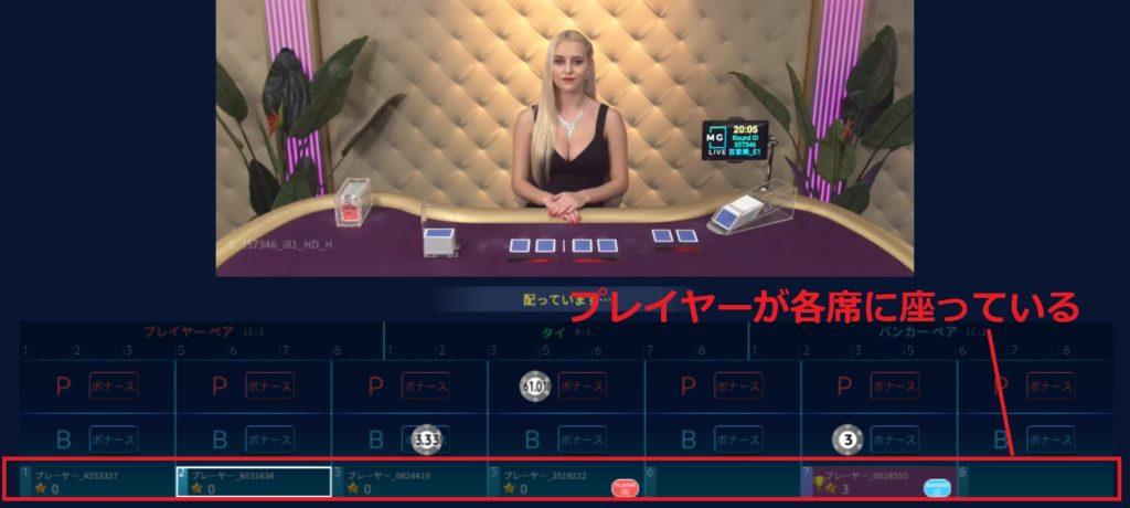 ユースカジノ バカラ